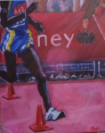 EMMANUEL MUTAI RUNS LONDON MARATHON 2011