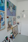 My Studio at Wimbledon Art Studios, towards the back
