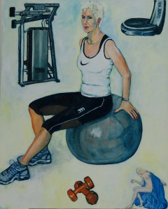 PORTRAIT OF GYM TRAINER