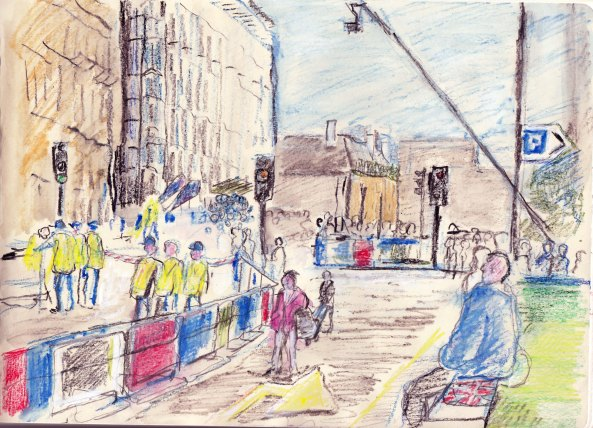 Sketch, London Marathon 2014